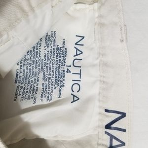 Nautica Bottoms - New Nautica Flat Front cement Size 14 Boys